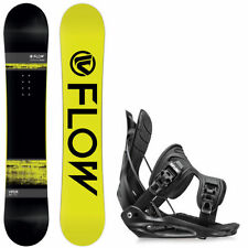 Flow Viper Snowboard 2016 + Flow Flite Binding (Black) 2015 – Men's Set