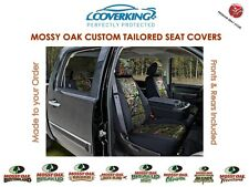 Coverking Neosupreme Mossy Oak Front & Rear Camo Seat Covers for Chevy Colorado