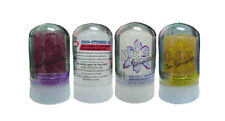 4 x D.S.T. DEO-STONES 93 NATURAL CRYSTAL ALUM ROCK DEODORANT ROLL ON