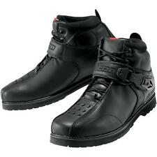 Icon Superduty 4 Motorcycle Leather Boots Black