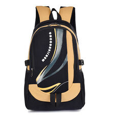 Fashion Men Canvas Casual School Backpacks Bookbags Outdoor Large Capacity Bags
