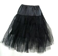 60's Square Dance Costume Black Petticoat Three layers underskirt Pannier