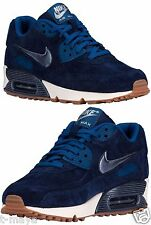 NIKE AIR MAX 90 WOMEN's RUNNING MIDNIGHT NAVY - SILVER - GHOST GREEN - BLUE SIZE