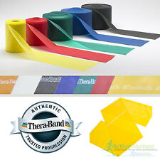 Theraband Resistance Bands Exercise Fitness Physio Thera Band Strips Catapult