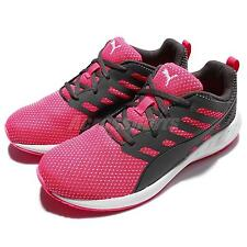 Puma Flare Mesh Wns Breathable Grey Pink Womens Running Shoes Sneakers 189029-04