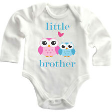 Little Brother Cotton Long Sleeve Baby Bodysuit One Piece