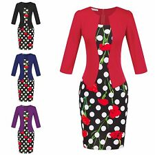 Women Sexy Office Lady Formal Business Work Cocktail Party Tunic Pencil Dress