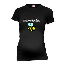 Mom To Bee New Mom Funny Maternity T-Shirt Tee Shirt Top Baby Shower Gift