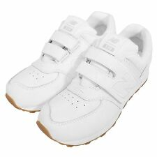 New Balance KV574G8Y W White Out Gum Kids Youth Running Shoes KV574G8YW