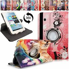 For Samsung Galaxy Tab 2 7 Inch P3100 Leather 360 Rotating Flip Stand Case Cover