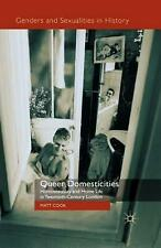 Queer Domesticities by M. Cook Paperback Book (English)