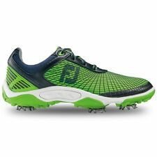 FootJoy Junior Hyperflex Golf Shoes 45098 Navy/Green Kids Boys Closeout New