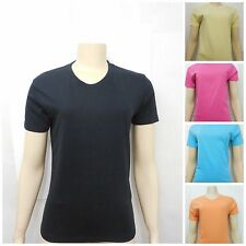 New BDG Urban Outfitters Womens Solid Colored Crewneck Tee T-Shirt Size XS-XL