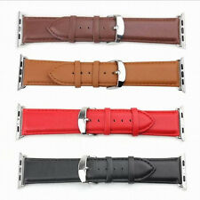 Genuine Leather Watch Band Bracelet Replacement Strap For Apple Watch 42MM USA