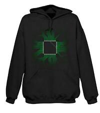 CPU HOODY - Gaming Crowd Gamer Nerd I.T. Computer Techie IT T-Shirt Geek
