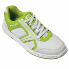 Brunswick Spark White/Lime Green Womens Bowling Shoes