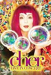 Cher - Live in Concert-DVD-FAST/FREE SHIPPING!!!