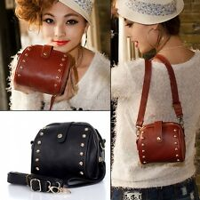 Rivet Bag Women Ladies Shoulder Handbag Satchel Casual Bag Messenger Camera Bag