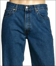 New Levi's Mens 550 Original Relaxed Fit 4891 Stonewashed Denim Jeans 36 X 30