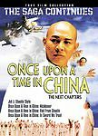 Once Upon a Time in China: Next Chapters Collection (DVD, 2007) OOP