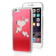 Fashion Sense Love Flash light LED Changing  Case Cover for iphone 6 4.7inch