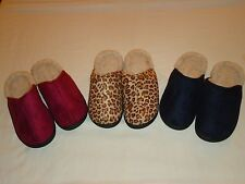 *NEW* Warm and Cozy Womens Indoor/Outdoor Clog Slippers/Several Sizes & Colors!