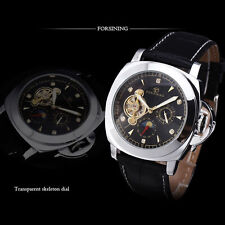 Men's Watch Multifunctional Tourbillon Automatic Mechanical Watch Moon Phase