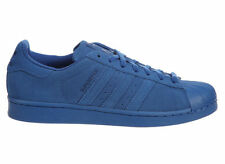 NEW MENS ADIDAS ORIGINALS SUPERSTAR CASUAL SHOES TRAINERS EQUIPMENT BLUE