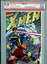 X-Men #1 E 1991 Marvel Comics VSP CBCS 9.8 NM+ Red Label Signed by Jim Lee