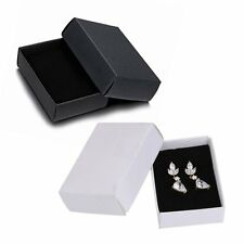 New 1Pcs Jewelry Finding Gift Paper Boxes For Ring Earring Necklace Bracelet Box