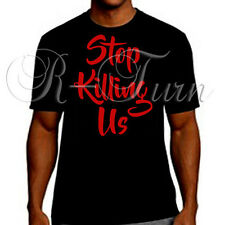 Stop Killing Us Black Lives Matter Tee Support Racial Equality T-shirt c