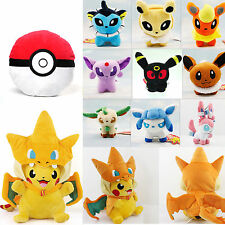 Pokemon Pocket Monster Pokedolls Throw Pillow Cushion Toy Plush Doll Collectible