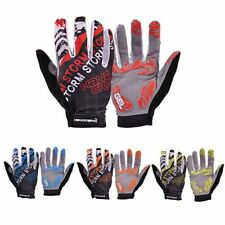 Mens Outdoor Cycling Gloves Bike Bicycle Sports Full Finger Anti-slip Gel Pad