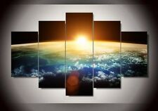 Framed print paintings 5 Piece Sunrise Modern Home Wall Decor on Canvas Hanging