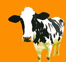 pop art cow Home Decoration Modern Abstract Oil Painting On Canvas Art