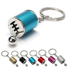 Auto Tuning Parts Key Chain Turbine Gearshift Keychain Absorber Keyring 5Color