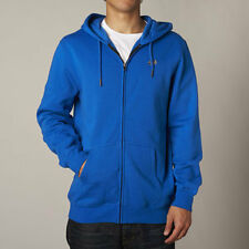 Fox Racing Legacy Mens Zip Up Hoody Blue