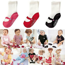Children Baby Kids Infant Socks Dot Cotton Socks NewBorn Toddler Anti-slip Socks