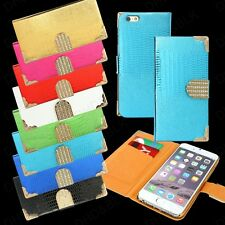Slim Leather Wallet Card Holder Flip Case Cover Stand For Apple iPhone 6 6S