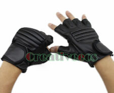 Fashion Men Motorcycle Bike Fitness Protective Driving Sports Fingerless Gloves