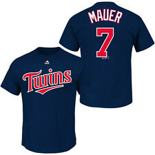 Joe Mauer Minnesota Twins NWT player t-shirt MLB Majestic Twinkies new with tags