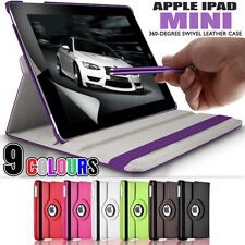 360 Rotating Stand Folding Swivel Case Flip Wallet Cover for Apple iPad Mini 2
