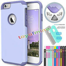Hybird Shockproof Rugged Gel PC Hard Case Cover Skin for Apple iPhone 6&6s Plus+