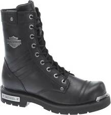 Harley-Davidson Men's Flatwood Side-Zip Motorcycle Boots Black or Stone D96105