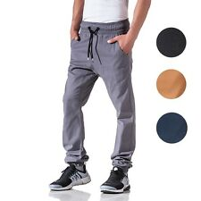 BS7 Men's Chinos Chino Jogger Casual Chinos Jogger Tracksuit Bottoms New