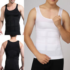 New Mens Slimming Body Shaper Tummy Belly Fatty Underwear Vest Corset Shapewear