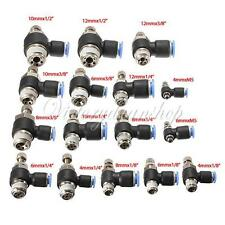 4-12mm Pneumatic Push In Fittings Air Flow Speed Control Valve Tube Hose Connect