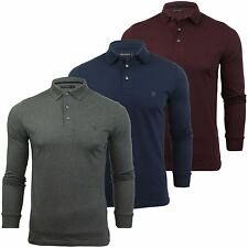 Mens Polo Shirt by FCUK/ French Connection Long Sleeved