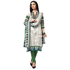 Designer Ethnic Printed Cotton Salwar Kameez Suit Indian Dress-KK-Needhi-403