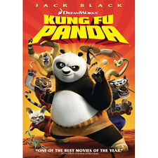 Kung Fu Panda (DVD, 2008, Full Frame) Like New
